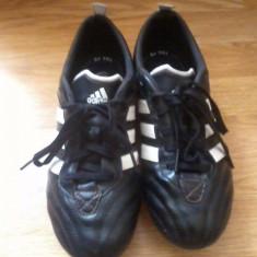 Ghete de fotbal Adidas AdiNova - Ghete fotbal Adidas, Marime: 38, Negru, Barbati
