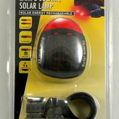 Stop pentru bicicleta alimentat cu energie solara - stop solar - Calitate excelenta -