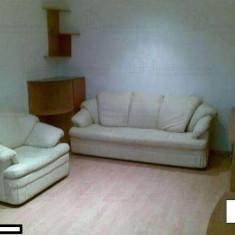 Mobila comanda sufragerie + canapea, fotolii piele ecologica Mobexpert - Set mobila living
