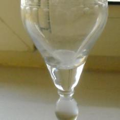 Pahare - Pahar din cristal fin