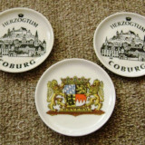 Farfurie decorativa - portelan Bavaria- 3 buc