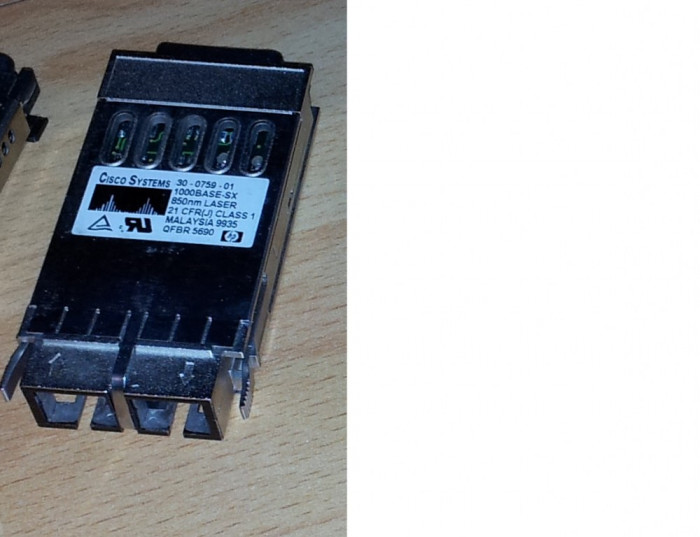 Transceiver optic - GBIC Cisco WS-G5484 1000Base-SX 850nm foto mare