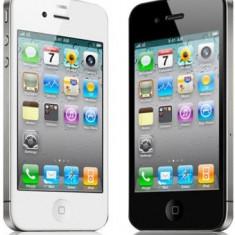 iPhone 4 Apple, Negru, 16GB, Orange