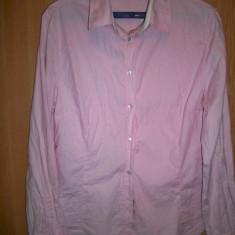 Camasa ZARA roz din bumbac - Camasa barbati Zara, M, Maneca lunga