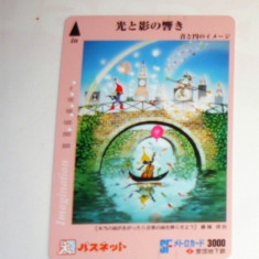 Cartela / Card Japonia - ARTA, FANTASTIC -   2+1 gratis toate licitatiile - RBK2381