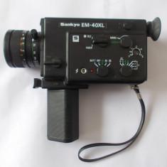 CAMERA SANKYO EM-40XL SUPER 8 mm JAPAN .