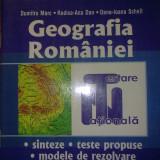 Carte de aventura - Dumitru Marc, Rodica-Ana Dan, Dana-Ioana Schell - Geografia Romaniei: sinteze, teste propuse, modele de rezolvare
