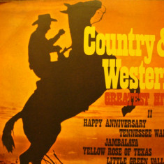 COUNTRY & WESTWRN - GREATEST HITS 2 - Muzica Country electrecord