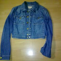 Jacheta de blugi H&M - Jacheta dama H&m, Marime: 34, Culoare: Bleu, Bleu