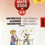 Manual Clasa a V-a - MATE 2000 8/9 - ARITMETICA, ALGEBRA, GEOMETRIE PARTEA I CLASA A V A de SORIN PELIGRAD ED. PARALELA 45
