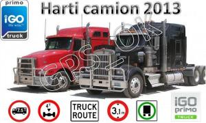 iGO Primo 2.4 2013 Camion/TIR - Soft navigatie GPS pentru Camioane, TIR-uri harti EUROPA si ROMANIA 2013 - setari GABARIT, timpi condus, ADR-uri, FTR foto