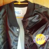 Geaca LA Lakers, originala adusa din USA, made in USA, nylon captusita bumbac, marime XL - Geaca barbati