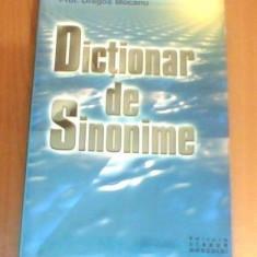 DICTIONAR DE SINONIME DE PROF.UNIV.DR.DRAGOS MOCANU,, 398 PAG, STARE FOARTE BUNA - Dictionar sinonime