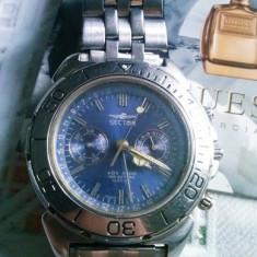 Ceas Sector ADV 4500 Original - Ceas barbatesc Sector, Elegant, Quartz, Inox, Cronograf