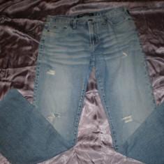 Blugi dama Versace Jeans Couture, 100% originali, Marime: 29, Culoare: Albastru, Lungi, Normal, Joasa