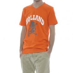 Tricou (t-shirt)HOLLAND_by hema - Tricou barbati H&m, Marime: XL, Culoare: Orange, XL, Maneca scurta, Din imagine