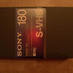 Casete video VHS Sony Broadcast model: MQSE-180 / S-VHS