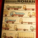 V.Mateevici -Automobile Roman pt. Transport Marfuri -ed. 1982 - Carti auto
