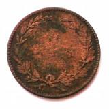 ROMANIA 5 BANI 1867 HEATON **