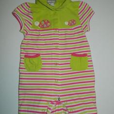 Compleu pentru copii, marimea 9 luni, pentru 71 de cm, marca Orchestra, Culoare: Verde, Compleuri, Verde