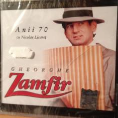 GHEORGHE ZAMFIR -ANII 70 (cu nicole licaret) (A & A REC.- CD NOU, SIGILAT) - Muzica Populara a&a records romania