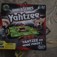 Jocuri Board games - Yahtzee world series poker mode +8ani Cel mai jucat joc in Europa si U.S.A.
