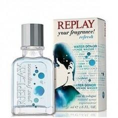 Replay Your Fragrance! Refresh Eau De Cologne 50 ml pentru barbati - Parfum barbati