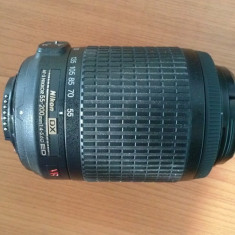 Obiectiv Nikon 55-200mm f/4-5.6G AF-S DX ED VR - Obiectiv DSLR Nikon, Tele, Autofocus, Nikon FX/DX, Stabilizare de imagine