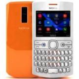 Telefon Nokia, Alb, Nu se aplica, Neblocat, Dual SIM, Fara procesor - NOKIA 205 ASHA DUAL SIM ALB-ORANGE NOU