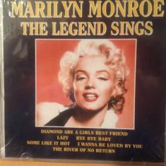 Muzica Jazz, CD - MARILYN MONROE - THE LEGEND SINGS ( 2002) -cd nou/sigilat