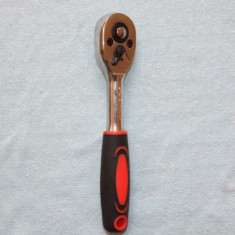 Cheie cu CLICHET marime mica pentru chei tubulare, lungime 15cm cu patratul de intrare de 6 mm - Cheie clichet