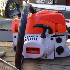 Drujba motofierastrau pe benzina noua cu pornire usoara