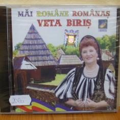 VETA BIRIS - MAI ROMANE ROMANAS (CD) SIGILAT!!! - Muzica Populara