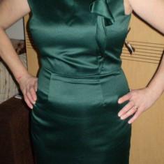 Rochie ZARA pentru ocazii speciale marimea L - Rochie cocktail, L, Satin