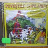 POVESTILE COPILARIEI  - PRASLEA CEL VOINIC SI MERELE DE AUR , ALEODOR IMPARAT (CD) SIGILAT!!!