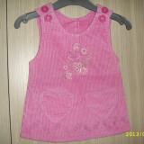 Haine Copii 6 - 12 luni, Sarafane - Sarafan/rochita raiat set 2buc 6-12 luni