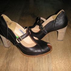 OFERTA! Pantofi Boot Company cea mai scumpa linie Timberland manufacturati sz 40 - Pantof dama Timberland, Culoare: Negru, Piele naturala