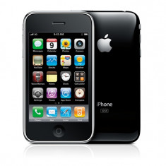 iPhone 3Gs Apple 16 GB perfecta stare perfecta de functionare camera 3.15 megapixeli procesor 600 pret 550 ron negociabil, Negru, Neblocat
