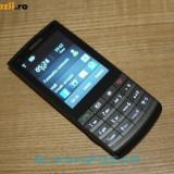 Telefon Nokia, Negru, <1GB, Neblocat, Fara procesor, 1 GB - Vand Nokia x3-02.5 - Model 2012 ! Defect !