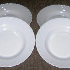 Set / Serviciu - farfurii / masa / vesela - portelan Frantuzesc - 4 persoane - Arc Opal