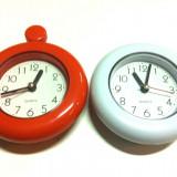 Ceas cu proiectie - Ceas cu rama din plastic pentru agatat / Quart