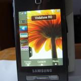 Telefon Samsung, Negru, <1GB, Neblocat, Single SIM, Fara procesor - Samsung F480 Tocco decodat - 3G - camera foto 5 megapixeli