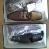 Pantofi Pantanetti - Pantofi barbati, Marime: 41, Culoare: Negru, Negru