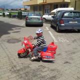 Masinuta electrica copii, Rosu - Motocicleta electrica