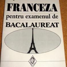 FRANCEZA pentru examenul de BACALAUREAT ( incepatori si avansati ) - Prof. Maria Tabacu - Teste Bacalaureat