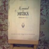 Manual Clasa a V-a, Alte materii - C. Meitert - Manual de muzica pentru clasa a V a (fara prima coperta)