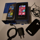 Nokia Lumia 610 - Telefon mobil Nokia Lumia 610, Negru, Neblocat