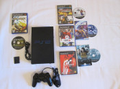 Oferta Play Station 2 - CONSOLA PS2 + CARD MODAT + CONTROLER + 7 JOCURI  PlayStation 2 Cel mai mic pret !!! foto