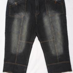 Pantaloni XXXL - QUEENSIZE- DENIM-WEAR- PANTALONI 3/4 DE BLUGI, NR. 56(3XL ), NOI, GERMANIA
