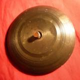 Baza bronz -Soclu pt.Statuete sau Sfesnic (cu surub) D1= 10 cm, D2= 5, 2 cm